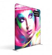 WaveLight 8' Premium Backlit Fabric Display
