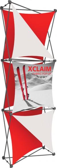 XClaim 1x3 Fabric Pop Up Display Kit 4