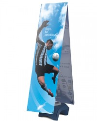 Zephyr 2 Double Sided Outdoor Banner Stand
