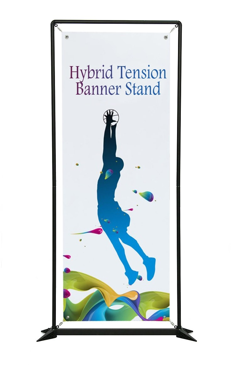 Personalized Jumbo Banner Small Tube 36 x 60 Graphic Package
