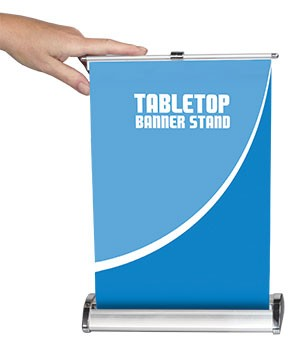 Table Top Banner Stands | TradeShowDisplayPros