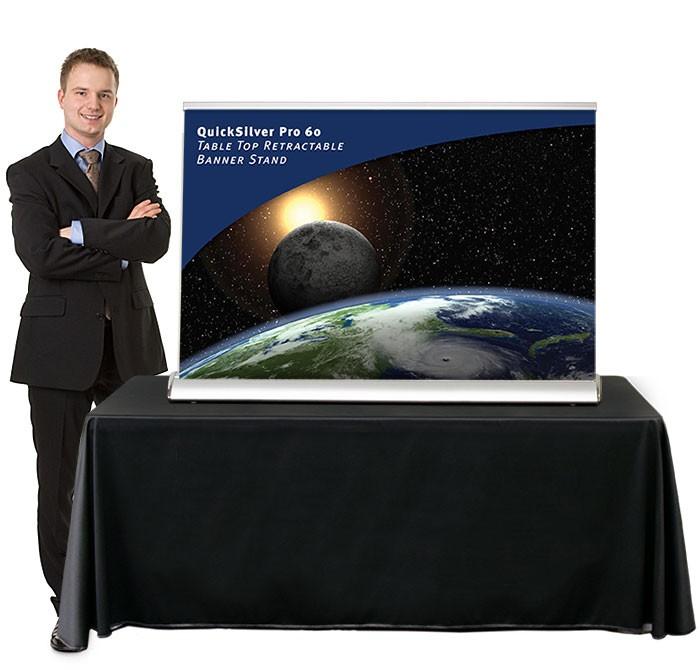 Table Top Banner Stands | TradeShowDisplayPros