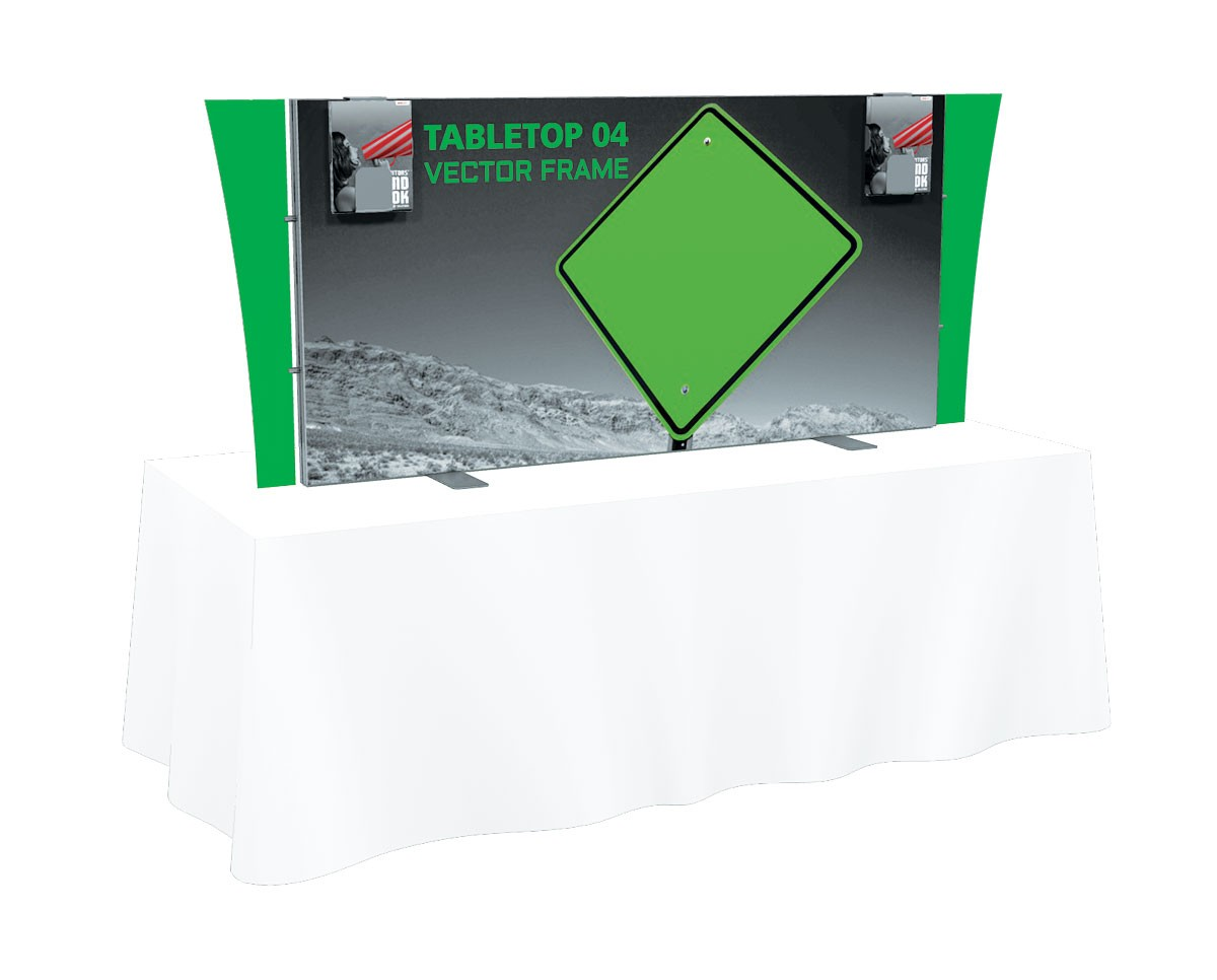 Tension Fabric Table Top Trade Show Displays | TradeShowDisplayPros ...