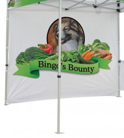 Canopy Tent Printed Full Wall