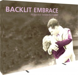 Embrace Backlit 10' Replacement Graphic with End Caps