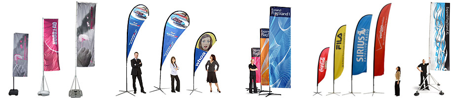 Outdoor Portable Flag Stands