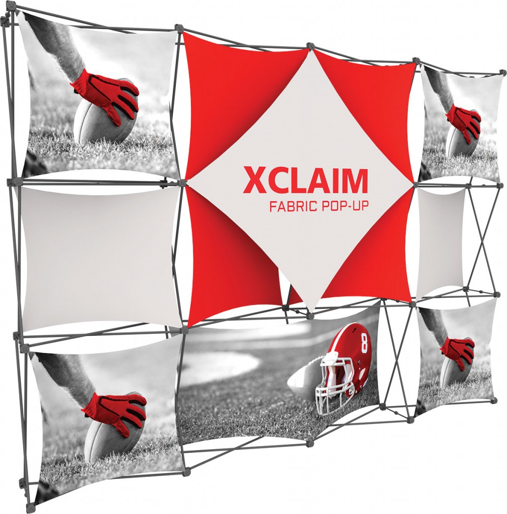 Fabric Pop Up Exhibition Stands : Xclaim fabric pop up displays trade show display pros